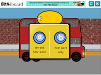 phase 2 tricky words bus